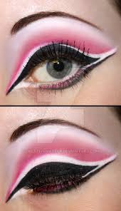 pink and black eyeshadow by creativemakeup