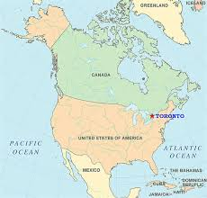 maps of toronto Canada Toronto Map toronto in north america map of canada canada toronto matejka