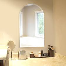 Wall Mirrors Arched Bathroom Wall Mirrors White Arched Wall