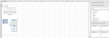 blank two column table chart. now we have our blank table with which to start arranging the data pivot \u0027fields\u0027. two column chart