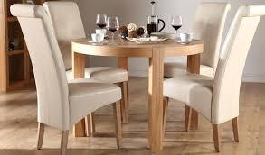 small round kitchen table with chairs elegant white dining room idea with wooden round kitchen table