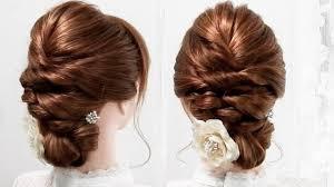 簡単な裏三つ編み髪型普段着から卒業式袴まで大人っぽい印象のヘア