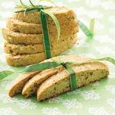 Hazelnut & Rosemary Biscotti Recipe | Land O'Lakes