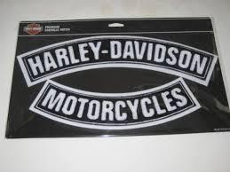 harley 2pc rocker patch set harley davidson forums
