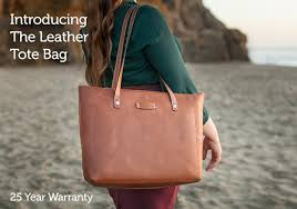 women s leather tote bag