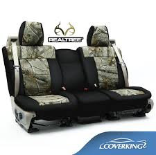 Coverking Realtree Camo Seat Covers for Chevy Silverado 1500 Full ...