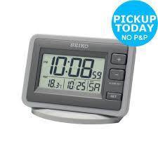 seiko lcd alarm clock