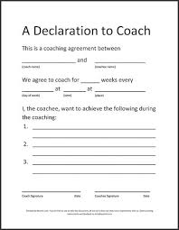 Coaching Contract Template - Radioberacahgeorgia.tk