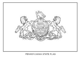 Small Picture Flag of Pennsylvania coloring page Free Printable Coloring Pages