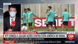 STF inicia julgamentos com votos favoráveis à permissão da Copa América