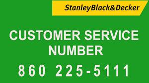 Stanley Black Decker Customer Services Number Toll Free Helpline