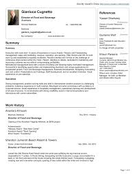 food and beverage resume templates themysticwindow food and beverage