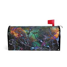 Space X Cover Letter Amazon Com Magnetic Mailbox Cover Brain Cell Deep Space