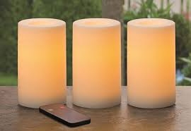 Outdoor Flameless Candles Awesome Outdoor Flameless Candles With Remote Reminiscegroup