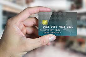 credit card in hand mockup generator