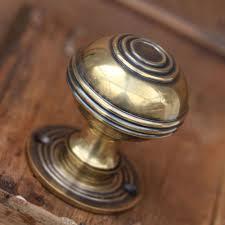 door handles. Antique Brass Door Knobs French Handles