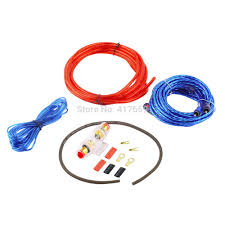 compare prices on car audio amp wiring kit online shopping buy new 1500w 8ga power cable 60 amp fuse holder car audio subwoofer amplifier amp wiring fuse