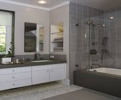 Picture Inspiration Grey Bathroom Tile Designs Minimalist Grey ...