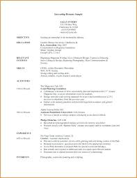 Pharmacy Internship Resumes It Intern Resume Mazard Info