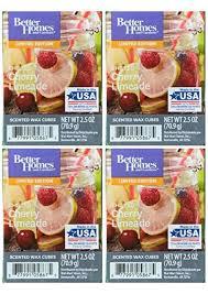 better homes and gardens chilled cherry limeade wax cubes 4 pack ttdootvec