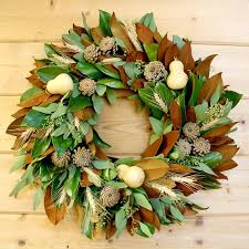 Magnolia Gourd Wreath