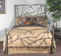 Rustic Headboards: King Size Pine Cone Bed Frame and Headboard|Black ...