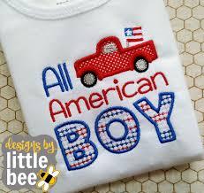 Little Boy Applique Designs All American Boy Applique