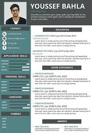 Resume In Powerpoint Cv Powerpoint To Download