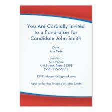 Political Fundraising Invitations Campaign Fundraiser Flyer Invitations Zazzle