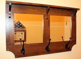 Mirror Coat Rack Hand Crafted Hall Mirror Coat Rack By Windrock Custom Creations 33