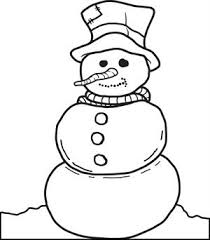 Small Picture FREE Printable Snowman Coloring Page for Kids 2