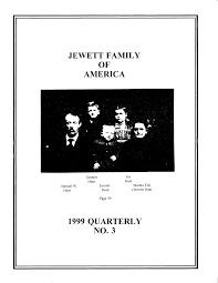 JEWETT FAMILY OF AMERICA 1999 QUARTERLY NO.3