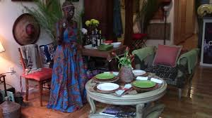 Afrocentric Living Room How To Set Up A Table For A Small Gathering Afrocentric Home