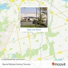 How To Get To Barrie Molson Centre In Barrie By Bus Moovit
