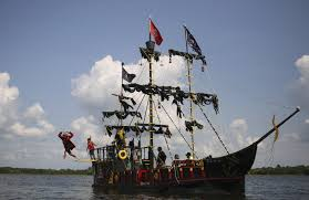 Image result for pirate party boat