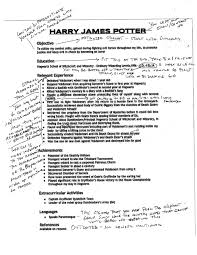 Stunning Harry Potter Resume Images - Simple resume Office .