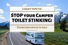 camper rv bathroom smell amazing
