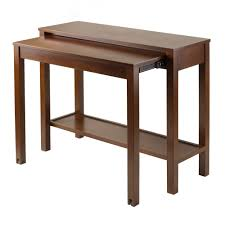 Expandable Kitchen Table Furniture Expandable Contemporary Dining Table Wayfair Of