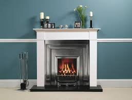 stovax belgravia polished cast fireplace front also shown brompton mantel from stovax