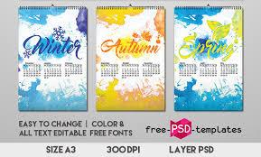 Calender Design Template 37 Premium And Free Psd Calendar Templates Mockups To Create The