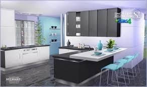 sims 4 kitchen design. bechamel kitchen at simcredible designs 4 sims design
