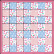 Baby Block Quilt Patterns Custom Baby Quilt Free Pattern