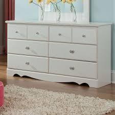 standard furniture daphne  drawer dresser in white  beyond stores
