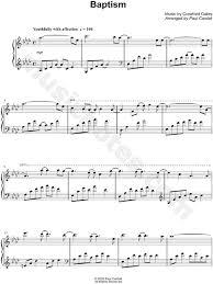 Gethsemane jesus loves me roger and melanie hoffman. Paul Cardall Baptism Sheet Music Piano Solo In Ab Major Download Print Sku Mn0127258