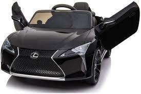 <b>Детский электромобиль Lexus</b> LC500 12V - JE1618-BLACK-PAINT