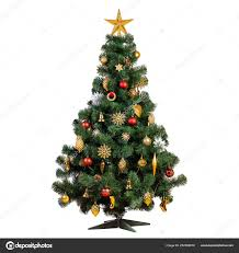 Vintage White Christmas Tree Lights Artificial Christmas Tree Beautiful Classic Vintage