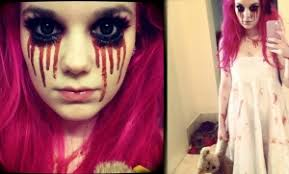 creepy little makeup tutorial