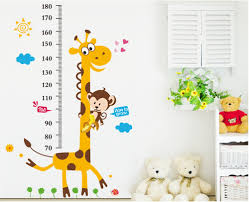 new heights furniture. 2015 new style giraffe height to stickers 3d cute decor stickerskindergarten children room decorates a wall heights furniture o