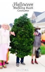 diy walking bush shrub costume simple how to instructions to make