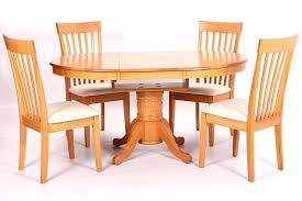 dining room sets co uk. leicester extending solid rubberwood dining table with 4 chairs room sets co uk